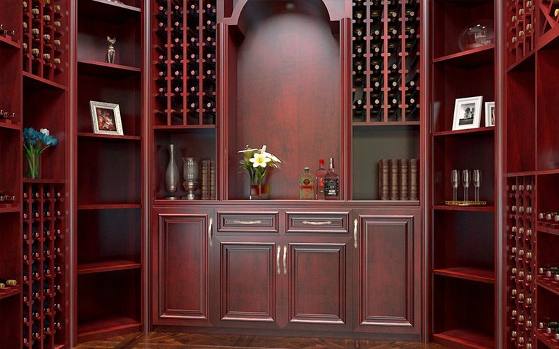 全铝酒柜酒窖—巴洛克