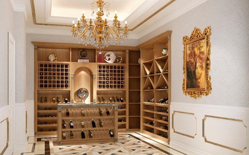 全铝酒柜酒窖—拉菲庄园